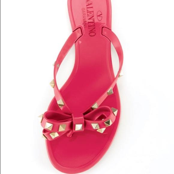 Never Worn Valentino Pvc Sandals